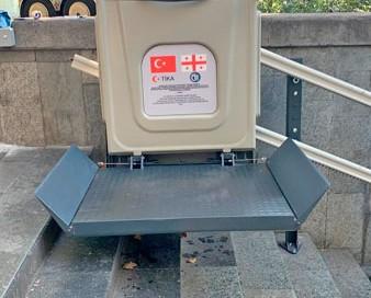 dış mekan katlanabilir merdiven engelli platformları yerli