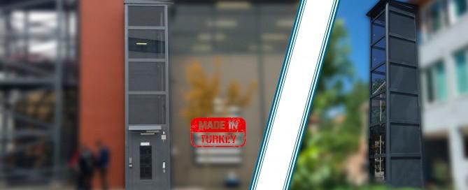 kapalı engelli asansörü