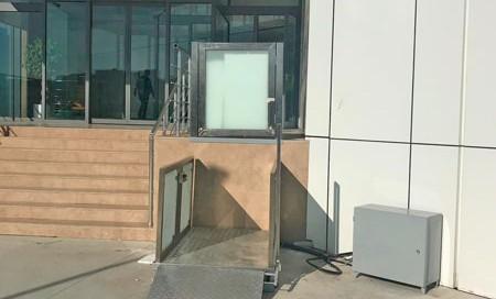 makaslı engelli asansörü